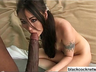 Interracial Asian doggy style and bj
